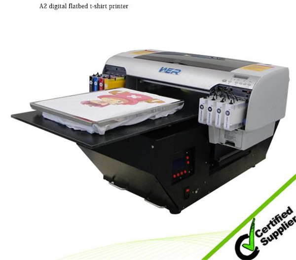 Hot Selling T-Shirt Printer (wer-D4880T) with Good Printing Effect in San Antonio