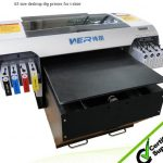 Best A3 size Digital T-shirt printer/Direct to garment textile printing machine in Iraq