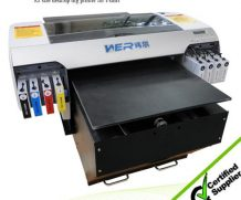 Best Hiqh quality A1size WER EP7880T t-shirt printer, digital t shirt printing machine in Ghana