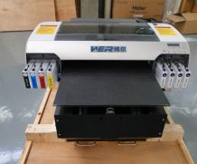 Best Top selling A3 Size WER-E2000T White Ink Black T-shirts DTG Printers in Ireland