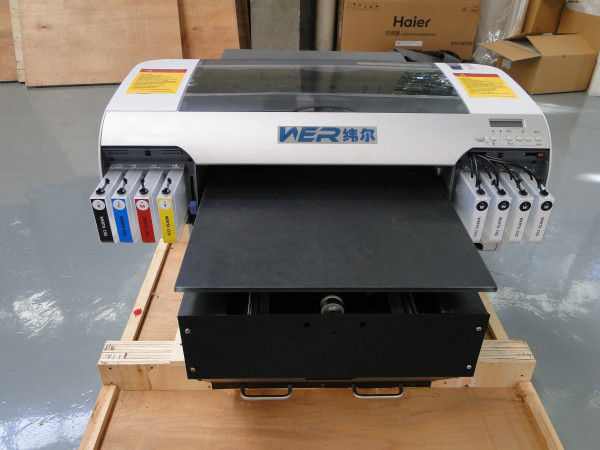 Wer-D4880t CE ISO Approved High Quality Dx5 A2 DTG Printer in Tanzania