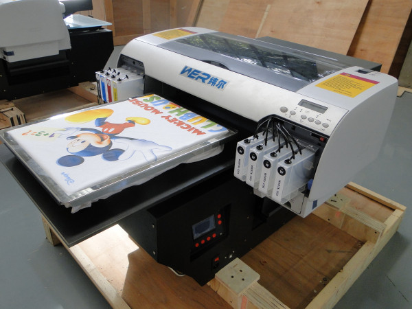 Most Popular A2 size WER-D4880T T-shirt Printer Textile/Garment Printer in Barbados