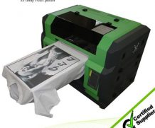 Best Top selling A2 size with high resolution and strong adhesive DTG printer in Venezuela
