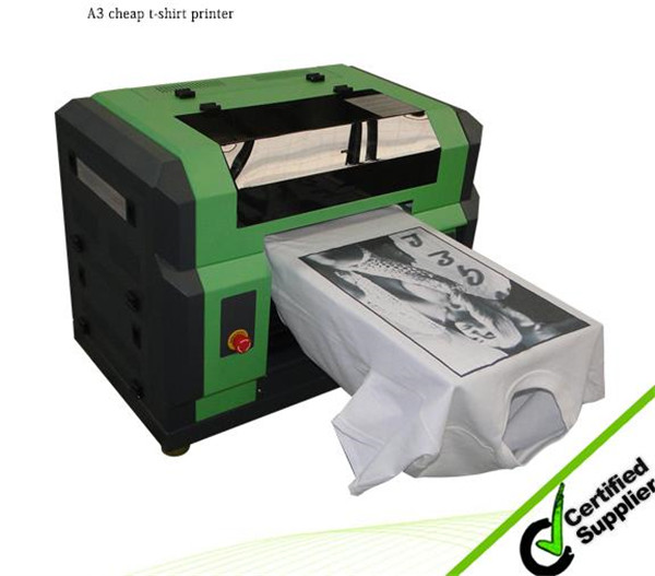 High quality cheap price Flatbed printer for T-shirt, clothes, dress, underwear etc in Algeria