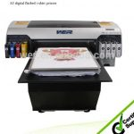 Best 2016 top selling printer A2 WER-D4880T direct toblack color T-shirt printer in Ecuador