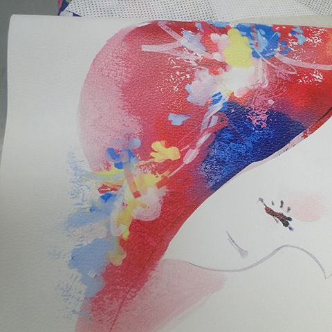 Multifunctional LED Big Format UV Ink Flatbed Printer Printing Sample